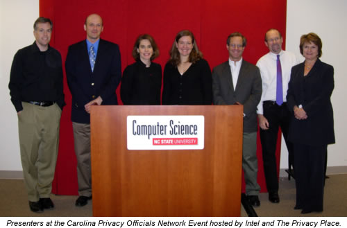 Presenters at the Carolina Privacy Officials Network Event
