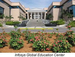 Photo of Infosys Global Education Center