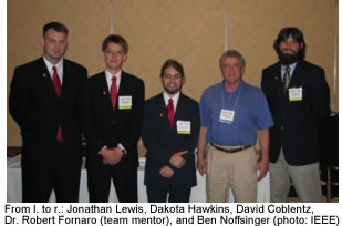 Photo of CSIDC team with Dr. Fornaro